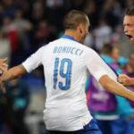 Eurocopa 2016: Italia vence 2-0 a Bélgica en el debut del Grupo E