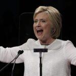 Clinton se proclama vencedora de primarias demócratas en EEUU