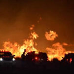 EEUU: Dos muertos y 2,000 evacuados por incendio en California