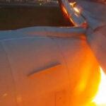 Avión con 240 pasajeros a bordo se incendia en Singapur [VÍDEO]
