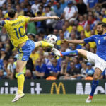 Eurocopa Grupo E: Italia clasifica a octavos al ganar 1-0 a Suecia