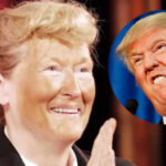 Meryl Streep parodia por sorpresa a Donald Trump en Nueva York