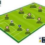 Segunda División: Once ideal de la fecha 8