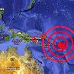 Sismo de 5.9 grados Richter sacude las Islas Salomón en el Pacífico