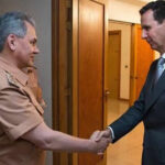 Siria: Ministro de Defensa ruso se reunió con el presidente Bashar al Assad