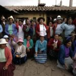 Parlandina Hilaria Supa distinguida por su trabajo en la sierra del Perú