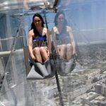Los Ángeles: Colocan un tobogán a una altura de 300 metros