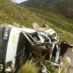 Ayacucho: despiste de 3 vehículos deja 9 muertos y más de 30 heridos