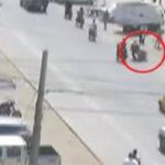 Piura: Policía motorizada sufre aparatoso accidente [VÍDEO]