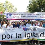 España: Miles arrancan la marcha del Orgullo Gay en Madrid
