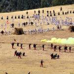 Escenificación de batallas de Pucará y Marcavalle congregó a miles de personas