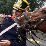 Bicentenario de Argentina: caballo posó para selfie con un granadero