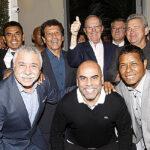 PPK recibió a César Cueto y constelación de estrellas del fútbol internacional