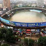 Estadio se inunda y se convierte en una piscina gigante