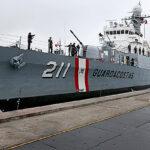 """Perú incorporó patrullera """"Ferré"""" a la flota de su Marina de Guerra"""