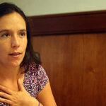 Marisa Glave expresó su rechazo al maltrato contra mujeres