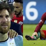 Messi y Cristiano Ronaldo, dos finales entre lágrimas