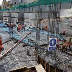 Estacionamiento subterráneo de Miraflores presenta un avance de 54.5%