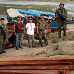 Vraem: Serfor decomisó madera ilegal que era transportada en embarcaciones fluviales