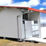 Contra friaje y heladas: instalan aulas prefabricadas que retienen calor