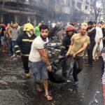 Irak: Sube a 180 los fallecidos por el atentado suicida en Bagdad