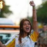 Argentina: Manifiestan malestar porque actriz llevó la antorcha olímpica