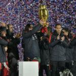 Chile celebra título de la Copa América centenario ante miles de hinchas