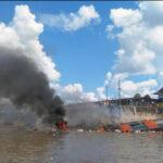 Explosión de crucero en Iquitos: hallan 2 cuerpos, pero 7 siguen desaparecidos