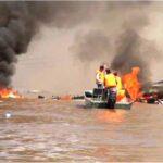 Iquitos: Hallan otro cuerpo por explosión de embarcación fluvial