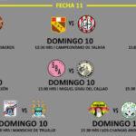 Segunda División: Programación fecha 11