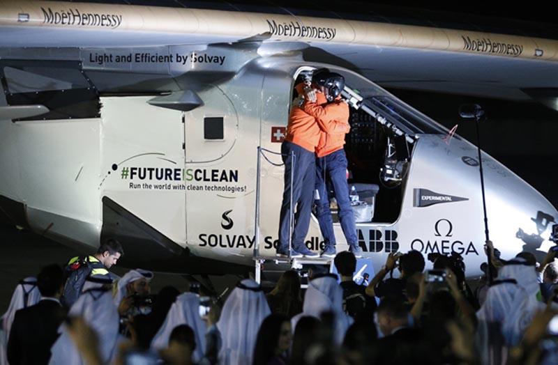 UAE-SWITZERLAND-ENERGY-SOLAR-IMPULSE-2