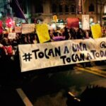 'Ni una menos': En Campo de Marte empieza marcha de protesta
