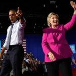 Barack Obama participó en mitin de campaña de Hillary Clinton (VIDEO)