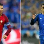 Eurocopa 2016: Duelo de figuras en la final, Cristiano Ronaldo con Antoine Griezmann