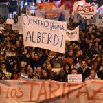 Argentina: Miles asisten a 'ruidazo' contra aumentos de tarifas