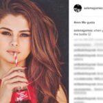 "Selena Gómez rompe el récord de ""Me gusta"" en Instagram"