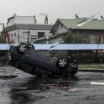 Taiwán: Tifón 'Nepartak' deja al menos 3 muertos y 142 heridos