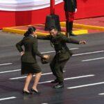 Parada Militar: Mira a pareja del Ejército bailando Valicha (VIDEO)