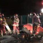 Choque frontal de buses causa 17 muertes en Panamericana Sur