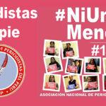 """ANP participará en movilización nacional """"Ni una menos"""""""