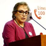 Ministra de la Mujer pide a Congreso reflexionar y no derogar DL 1323