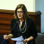 Mercedes Aráoz a cargo del despacho presidencial desde este sábado