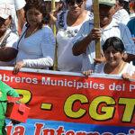 CGTP: Marcharemos contra la violencia a la mujer trabajadora