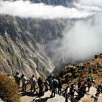 Ingreso de turistas al valle del Colca se restablece con restricciones