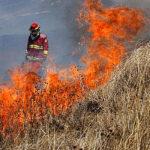 Incendio forestal: Ayuda humanitaria llega a distrito de Querecoto