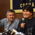 """Bolivia: Evo Morales dice que otra vez ha derrotado un """"golpe de Estado"""""""