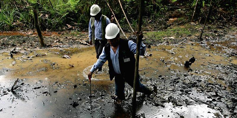 Amazonas: Detectaron fuga de petróleo del Oleoducto Nor Peruano en Condorcanqui