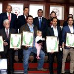 IPD condecora con laureles a siete deportistas de taekwondo y vela