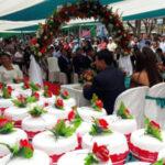 Matrimonio civil masivo por el 477 aniversario de Huánuco