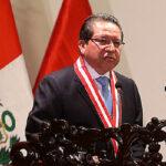 Cuatro bancadas piden que no se destituya a fiscal Pablo Sánchez